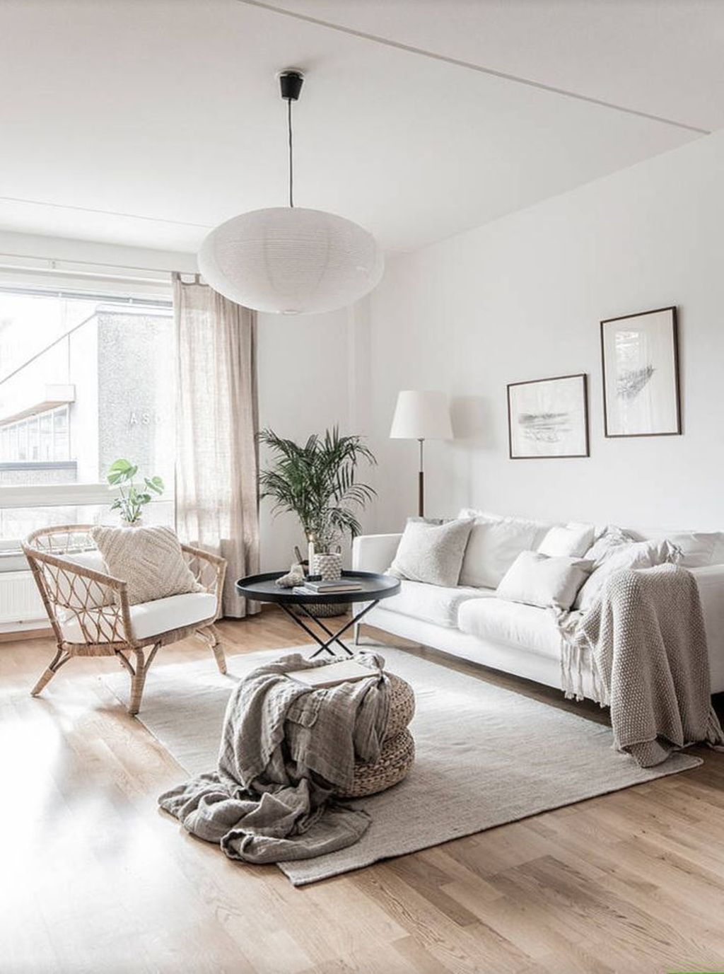 Beautiful Scandinavian Living Room Decoration Ideas 25