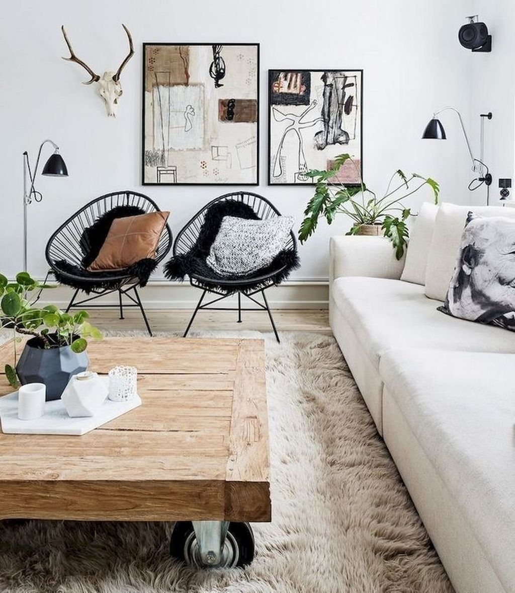 Beautiful Scandinavian Living Room Decoration Ideas 28
