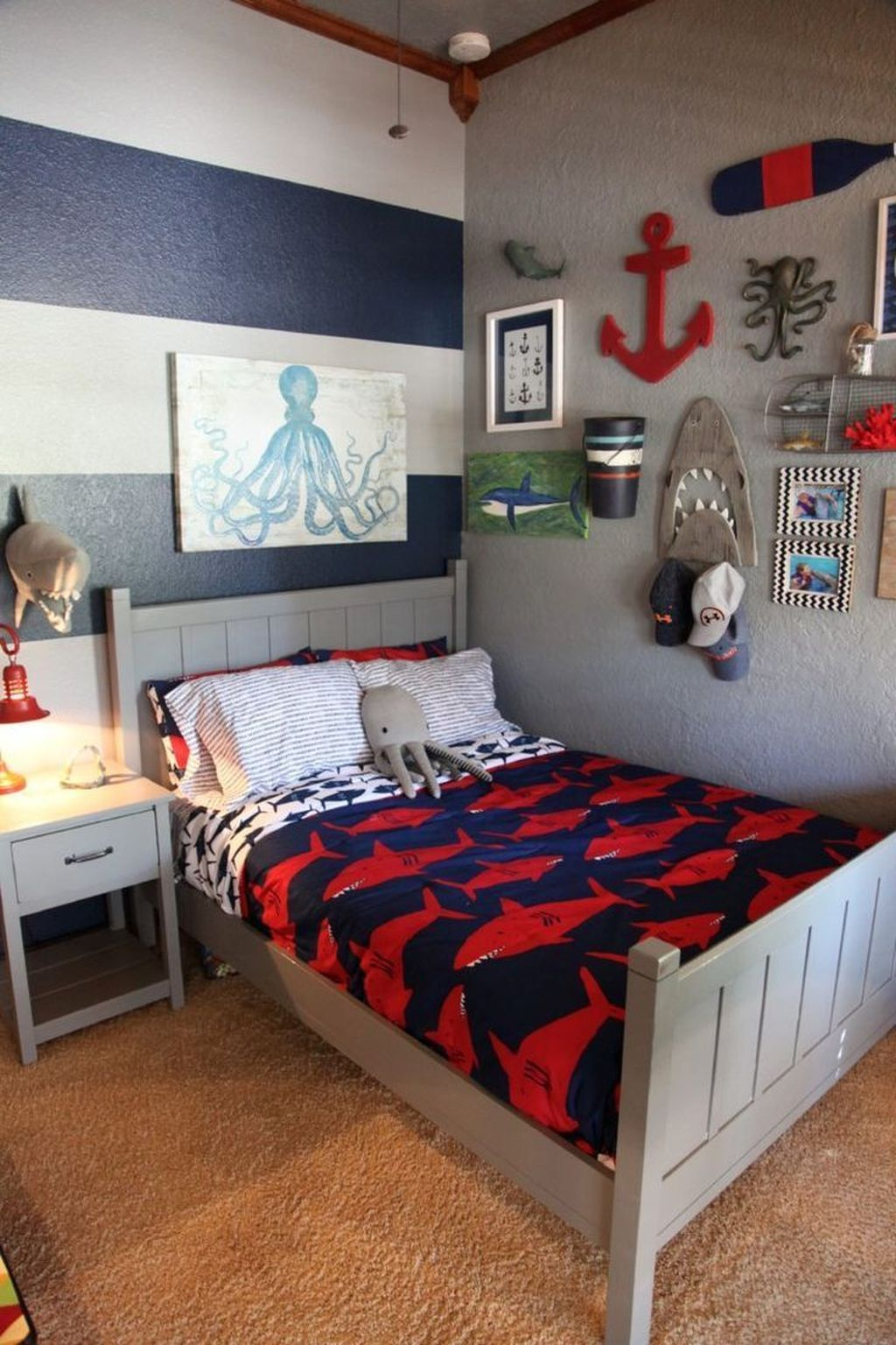 Cozy Boys Bedroom Decorating Ideas 08