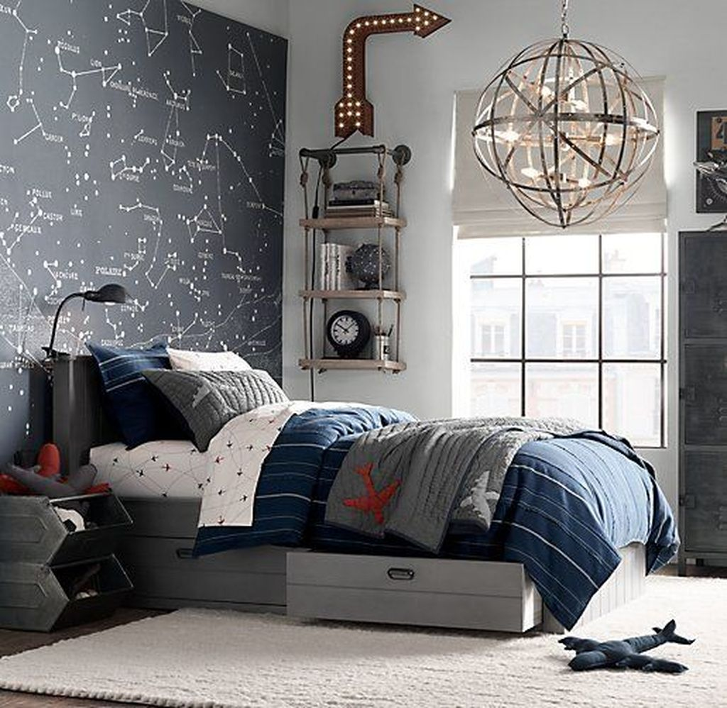 Cozy Boys Bedroom Decorating Ideas 25