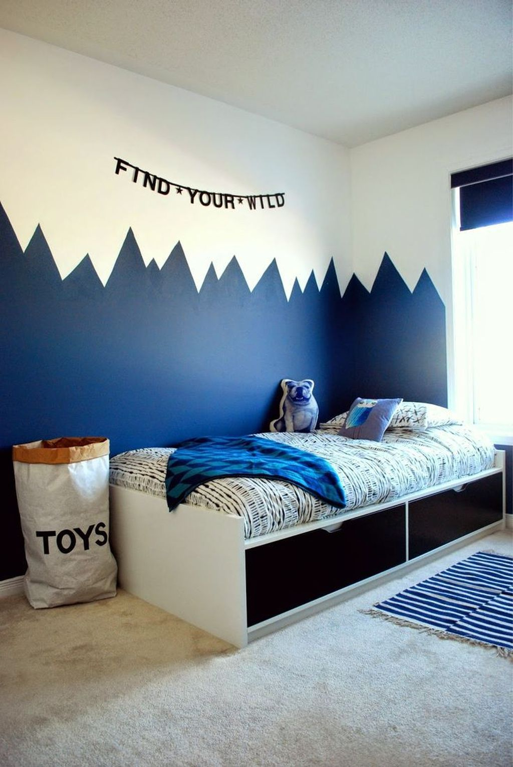 Cozy Boys Bedroom Decorating Ideas 28