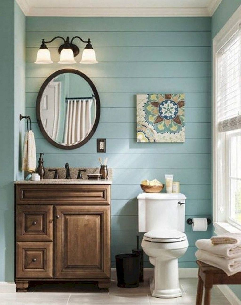 Fabulous Bathroom Decor Ideas With Coastal Style 14
