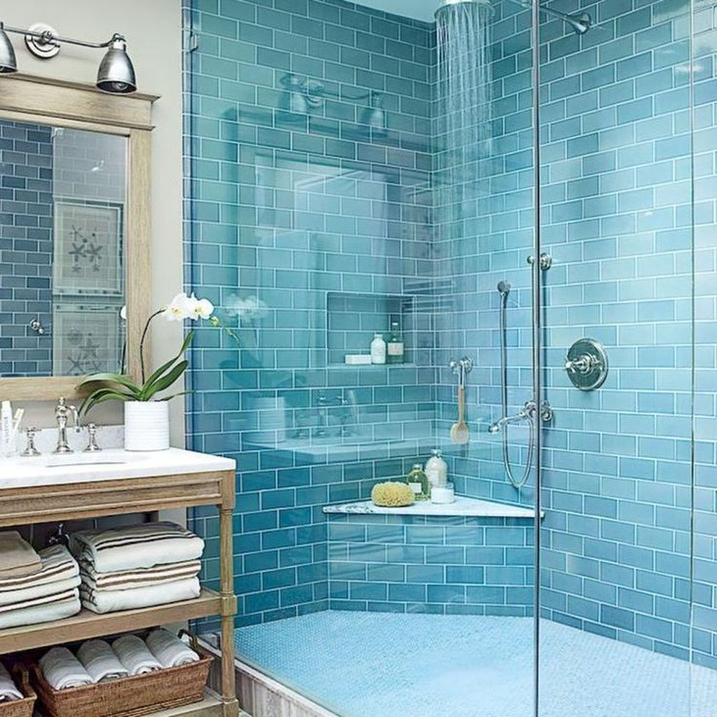 Fabulous Bathroom Decor Ideas With Coastal Style 17