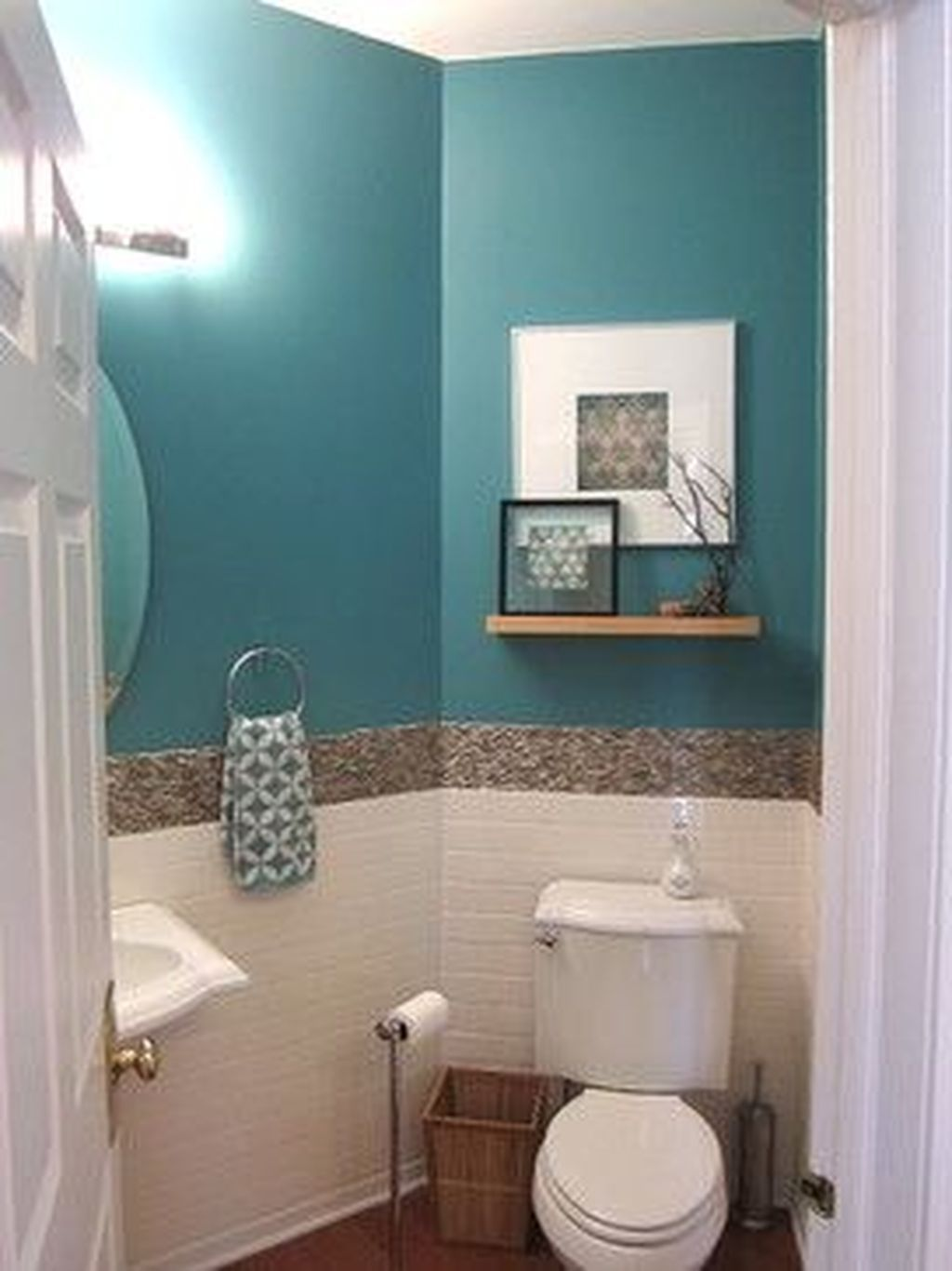 Fabulous Bathroom Decor Ideas With Coastal Style 19