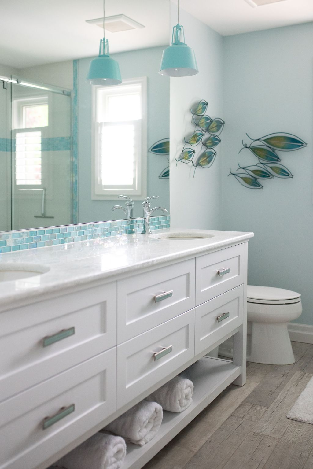 Fabulous Bathroom Decor Ideas With Coastal Style 22