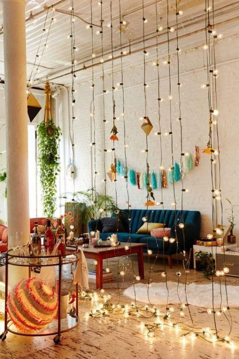 Fabulous Bohemian Living Room Decorating Ideas 01