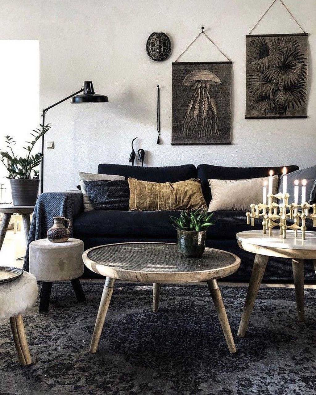 Fabulous Bohemian Living Room Decorating Ideas 19