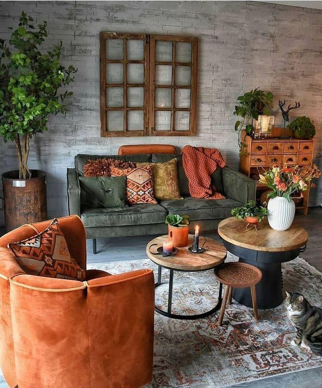 Fabulous Bohemian Living Room Decorating Ideas 23