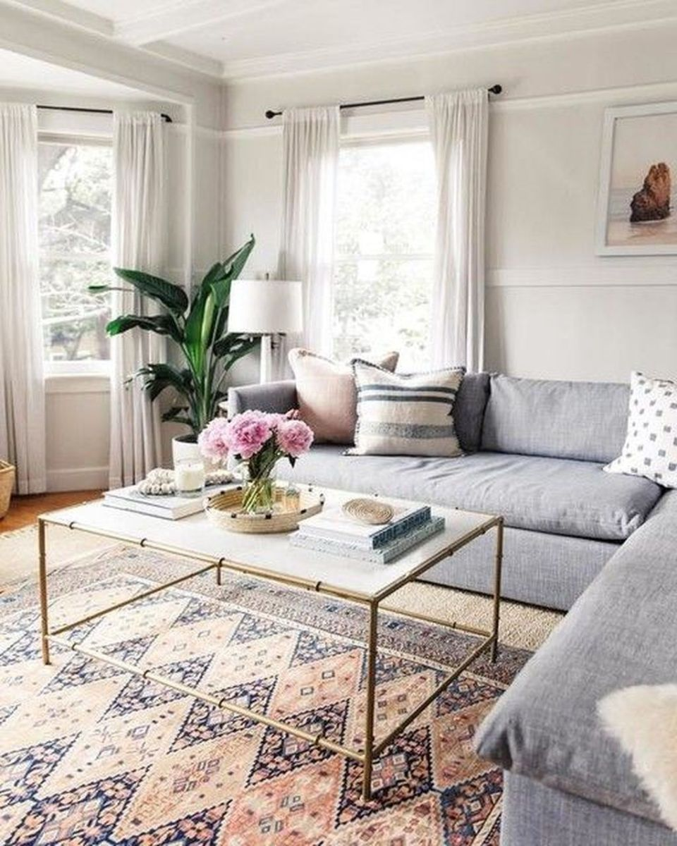 Fabulous Bohemian Living Room Decorating Ideas 26
