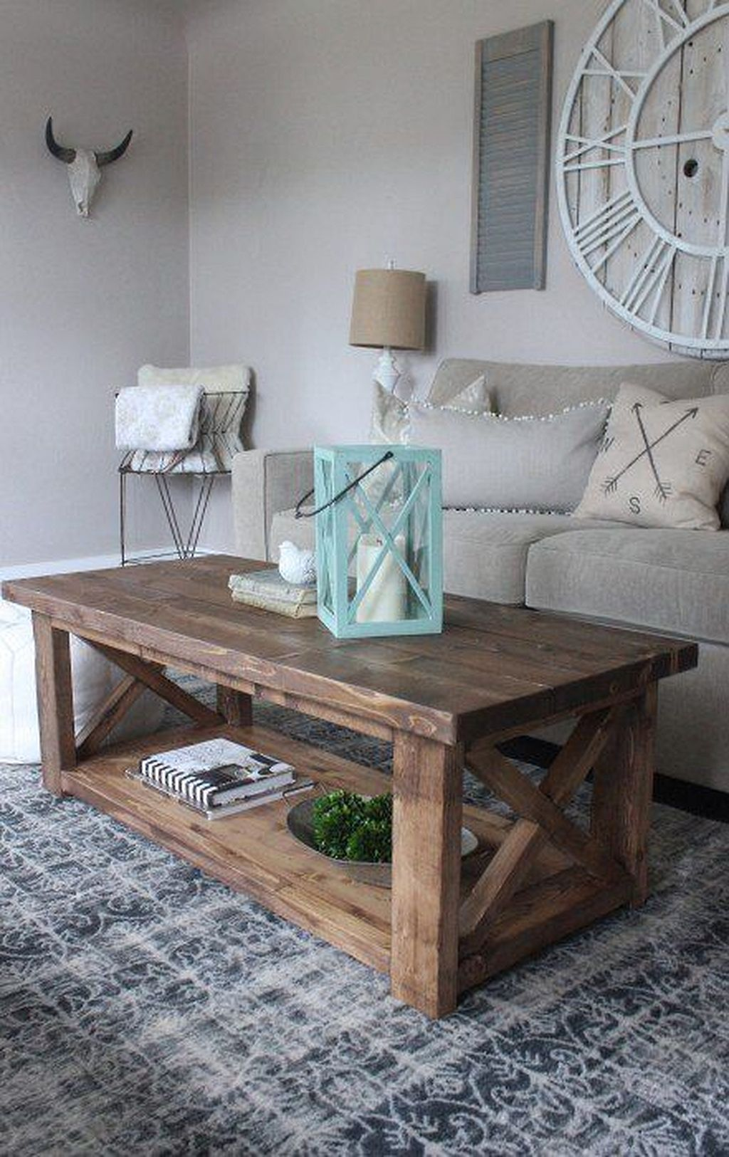 Gorgeous DIY Coffee Table Design Ideas 05