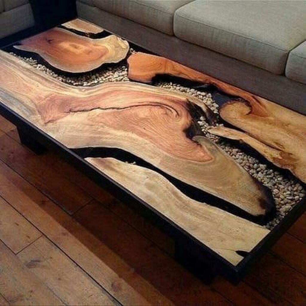 Gorgeous DIY Coffee Table Design Ideas 25