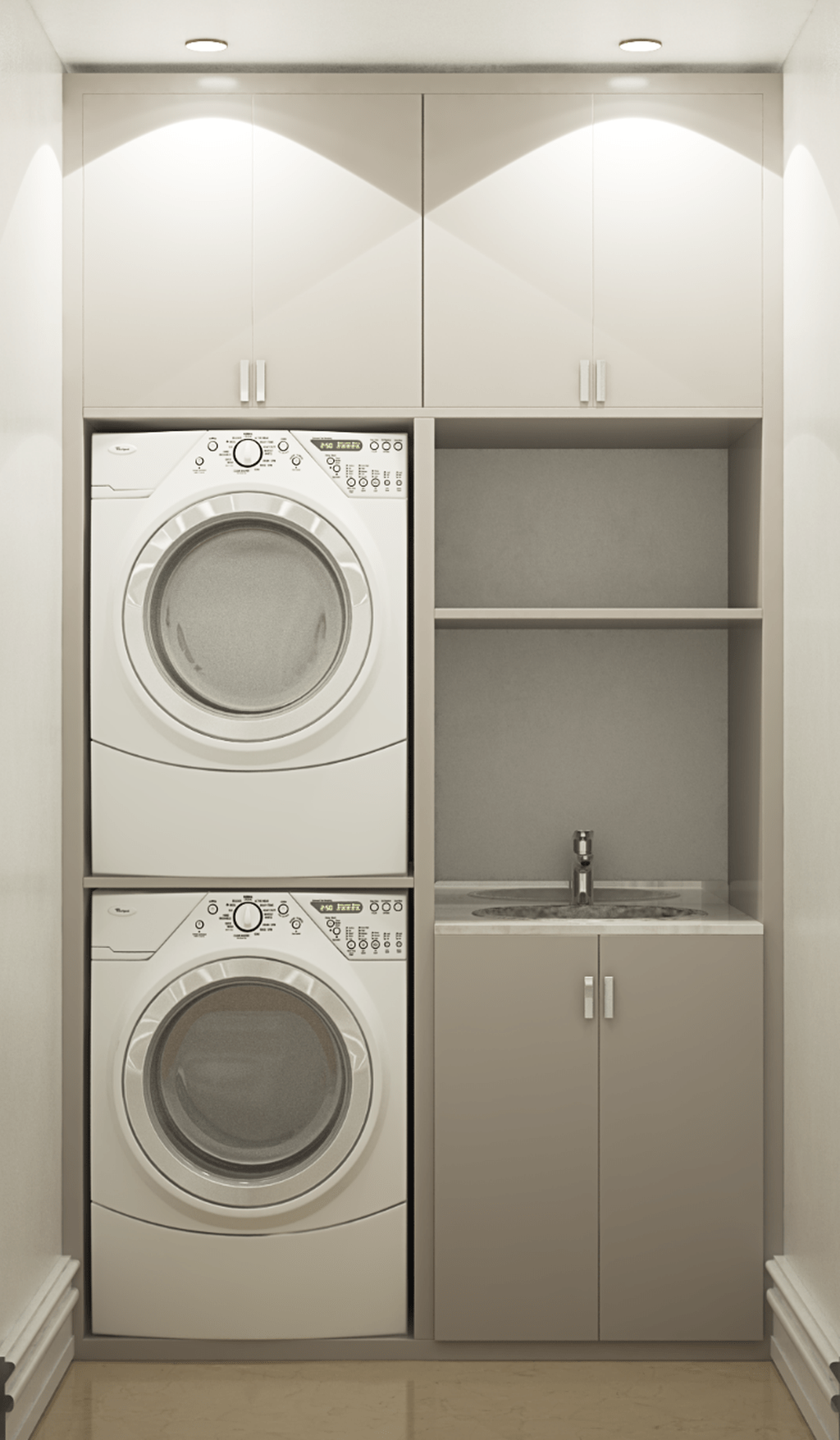 Inspiring Small Laundry Room Design And Decor Ideas 02