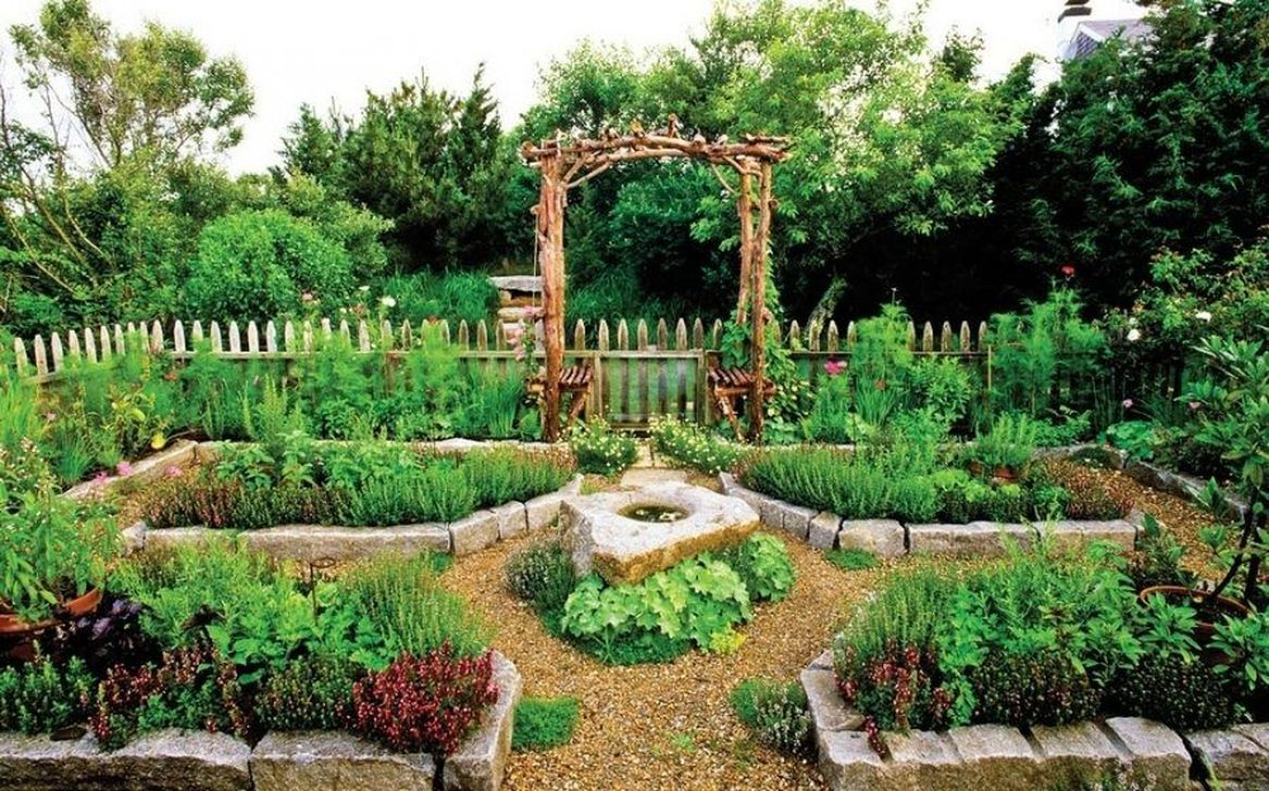 Inspiring Veggies Garden Layout For Your Outdoor Ideas 02