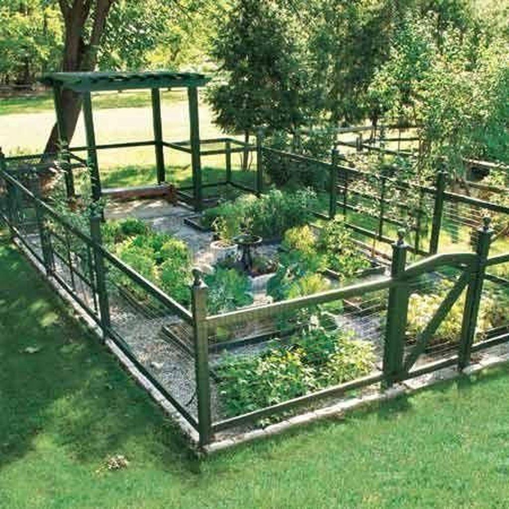 Inspiring Veggies Garden Layout For Your Outdoor Ideas 16