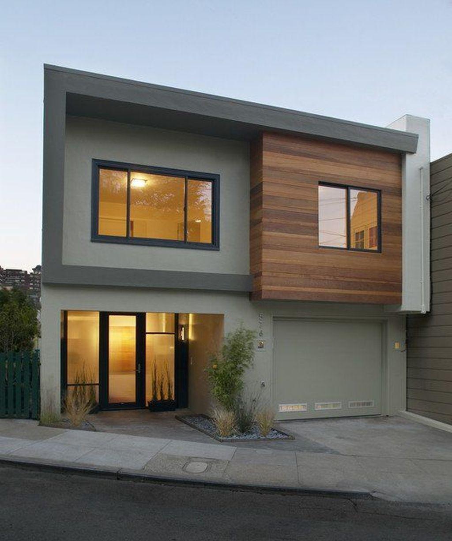 Lovely Modern Home Exterior Design Ideas 08