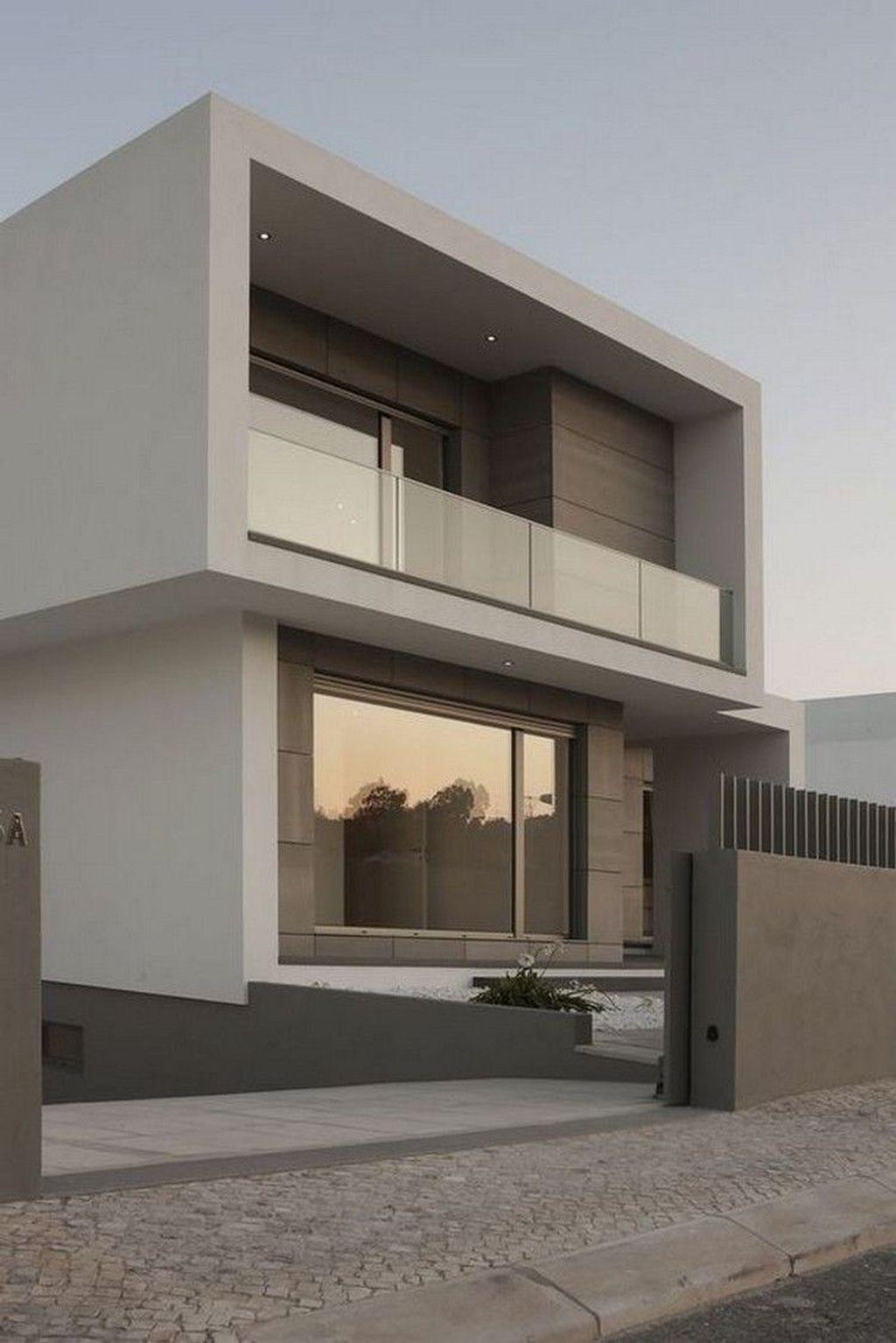 Lovely Modern Home Exterior Design Ideas 10