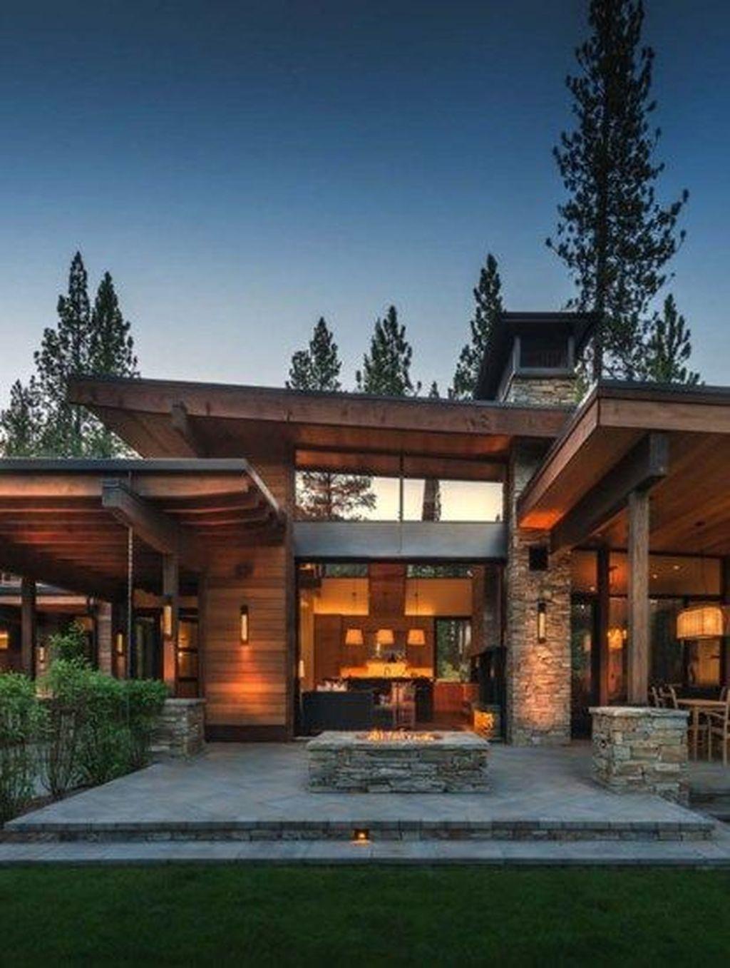 Lovely Modern Home Exterior Design Ideas 13