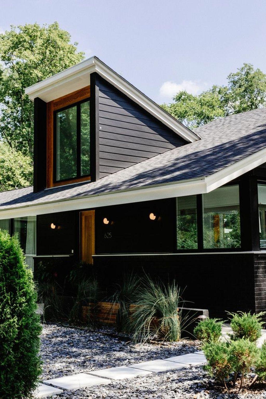 Lovely Modern Home Exterior Design Ideas 27