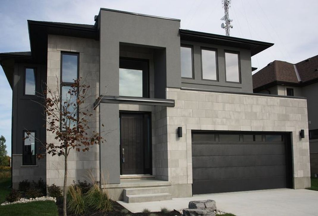 Lovely Modern Home Exterior Design Ideas 28