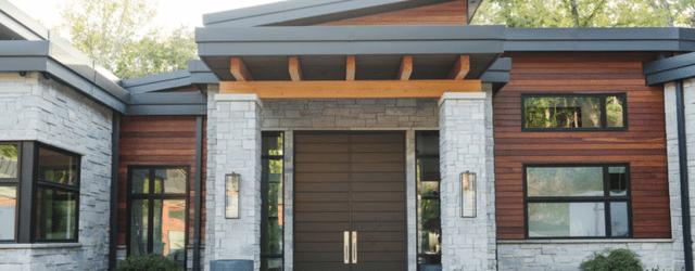 Lovely Modern Home Exterior Design Ideas 36