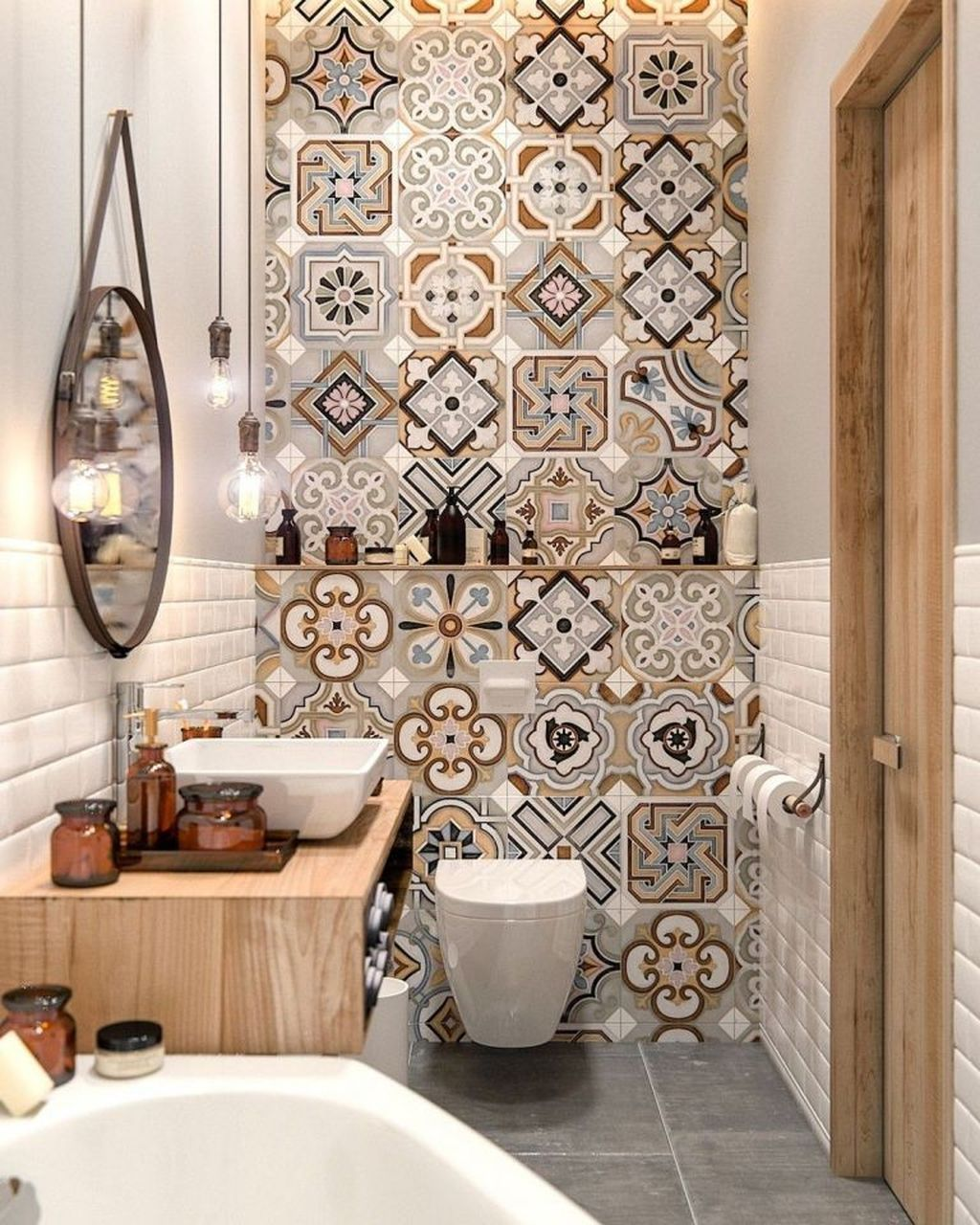 Popular And Stylish Small Master Bathroom Remodel Ideas 05