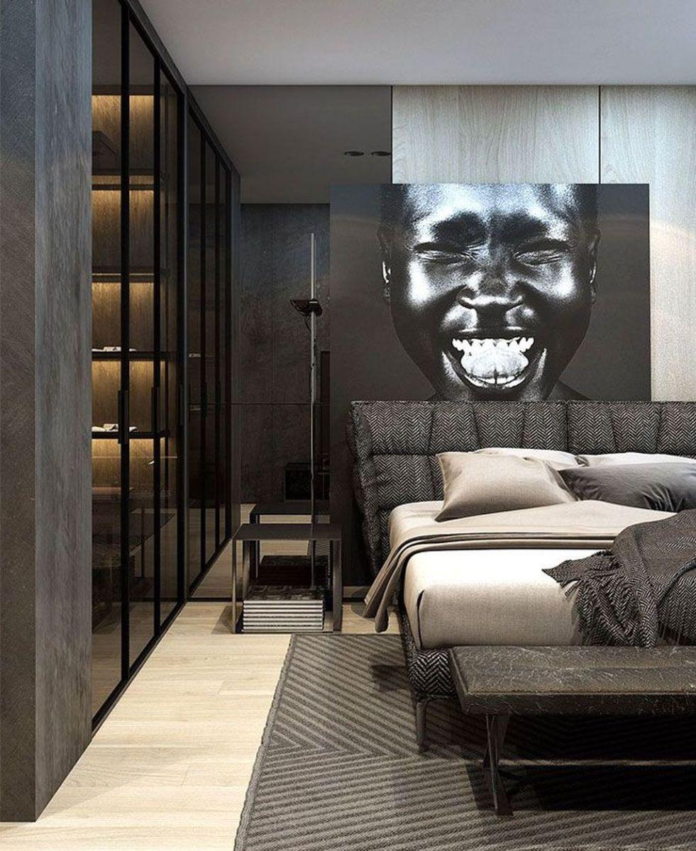 Popular Modern Man Bedroom With Elegant Look 04