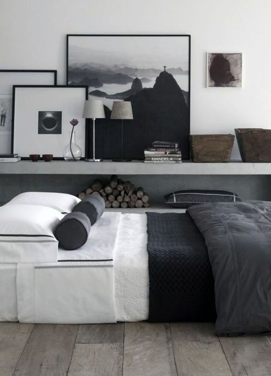 Popular Modern Man Bedroom With Elegant Look 09