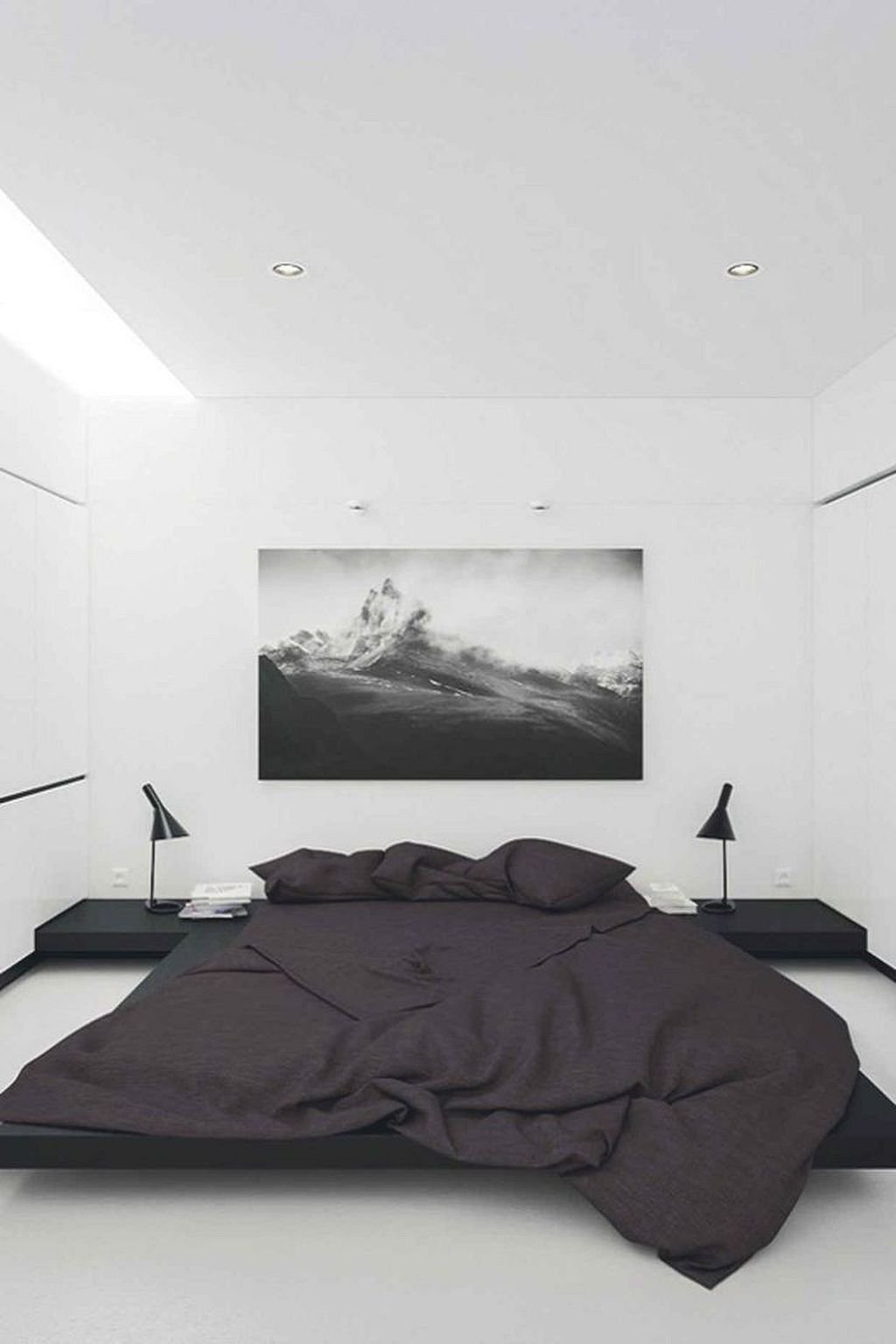 Popular Modern Man Bedroom With Elegant Look 15