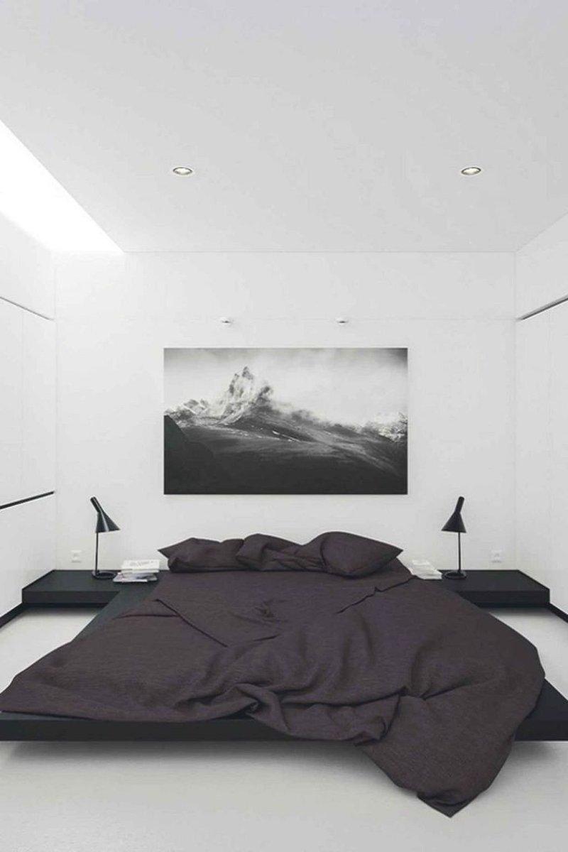 Popular Modern Man Bedroom With Elegant Look 15