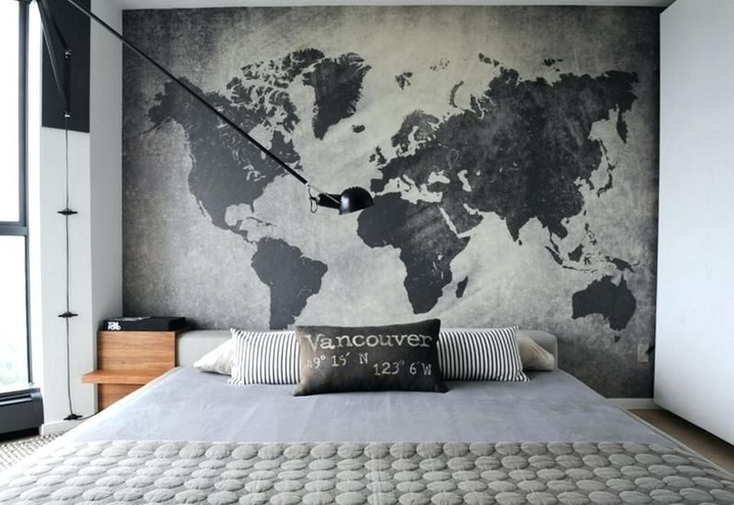 Popular Modern Man Bedroom With Elegant Look 19