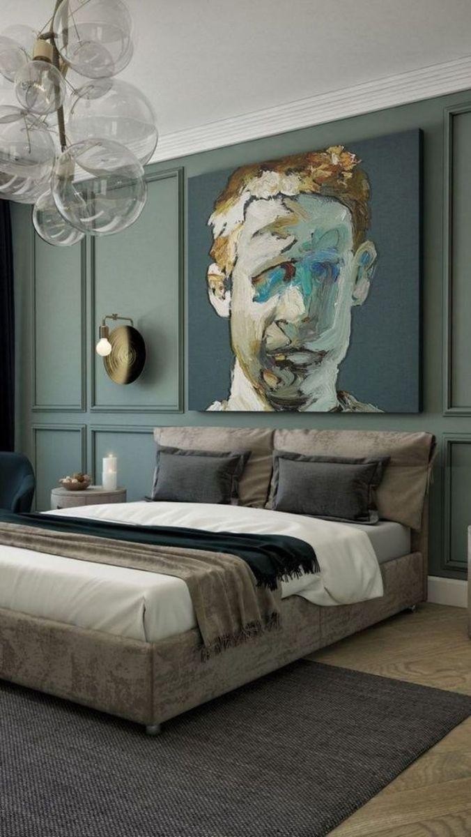 Popular Modern Man Bedroom With Elegant Look 27
