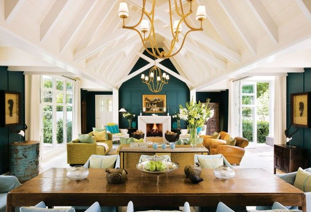 Stunning Lodge Living Room Decor Ideas 01