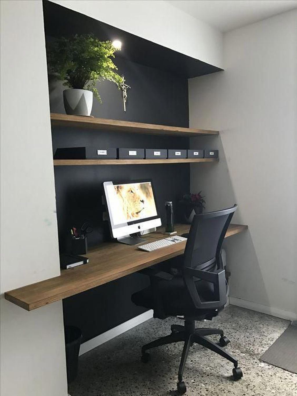 Stunning Modern Home Office Design Ideas 09
