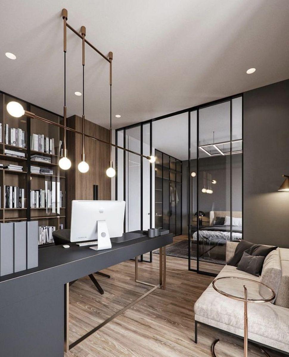 Stunning Modern Home Office Design Ideas 11