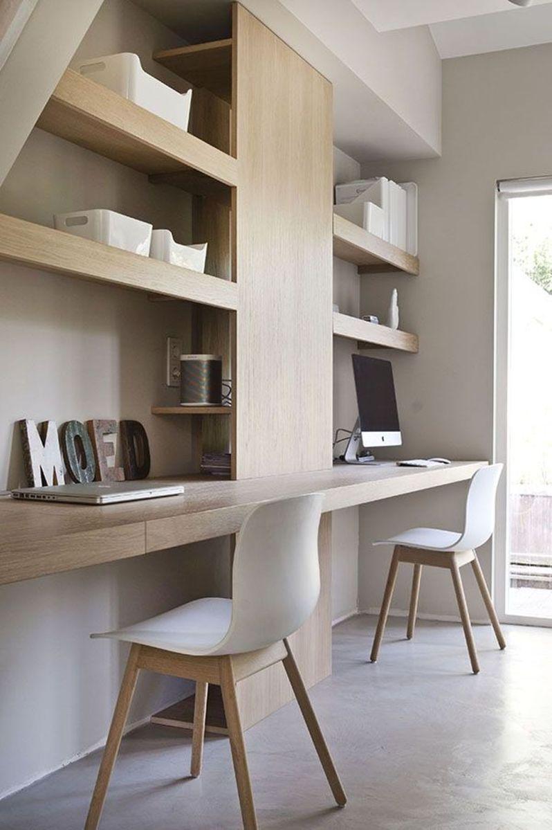 Stunning Modern Home Office Design Ideas 14