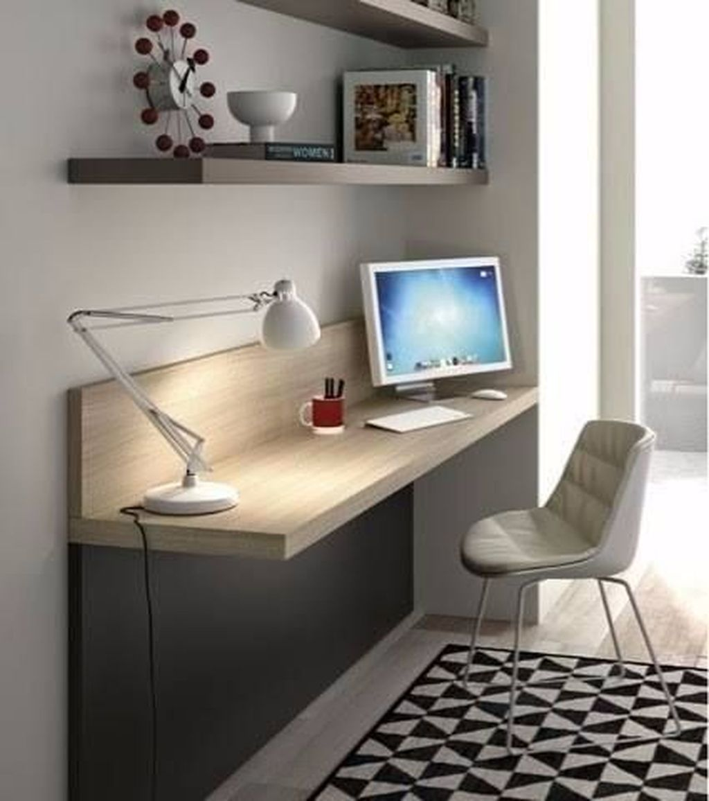 Stunning Modern Home Office Design Ideas 15