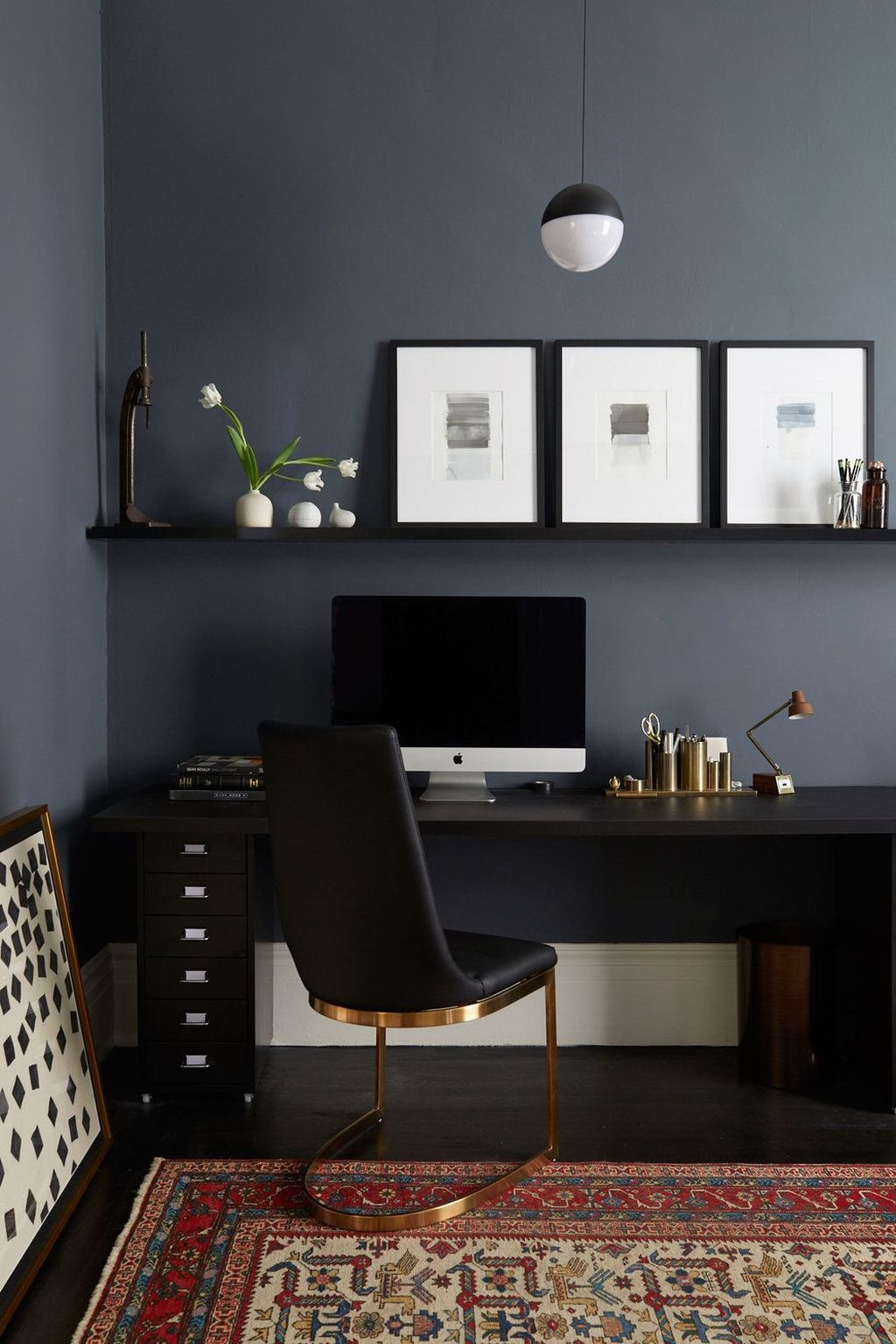 Stunning Modern Home Office Design Ideas 16
