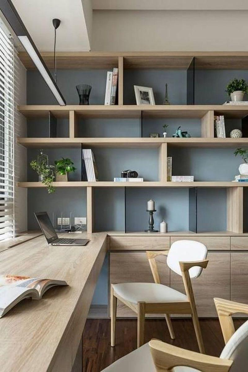 Stunning Modern Home Office Design Ideas 22