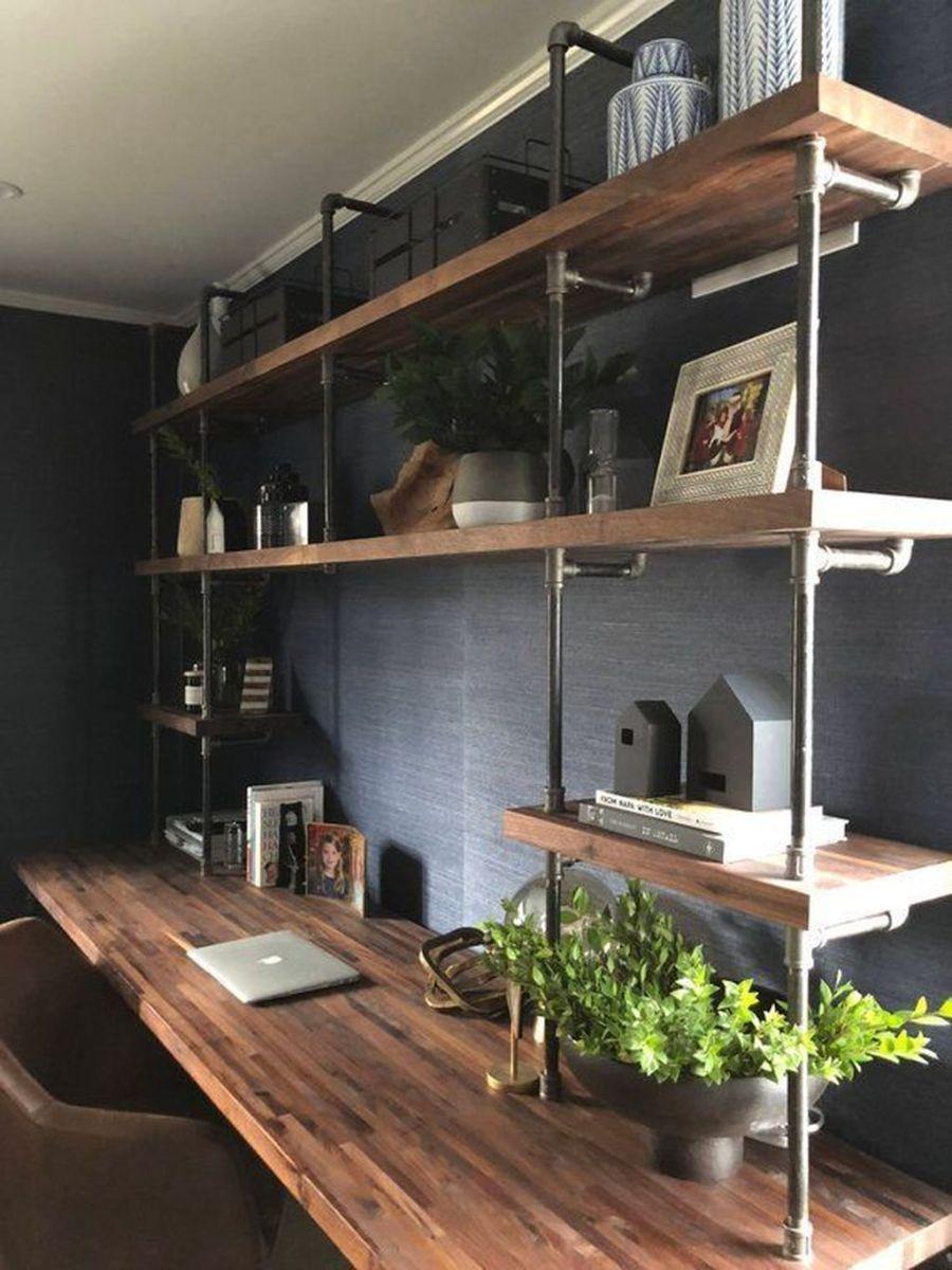 Stunning Modern Home Office Design Ideas 32