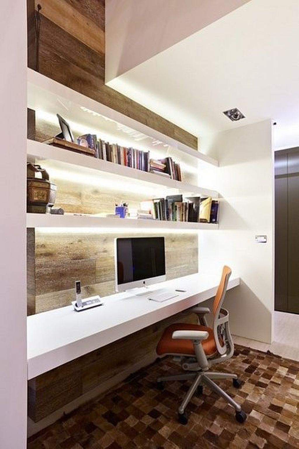 Stunning Modern Home Office Design Ideas 38