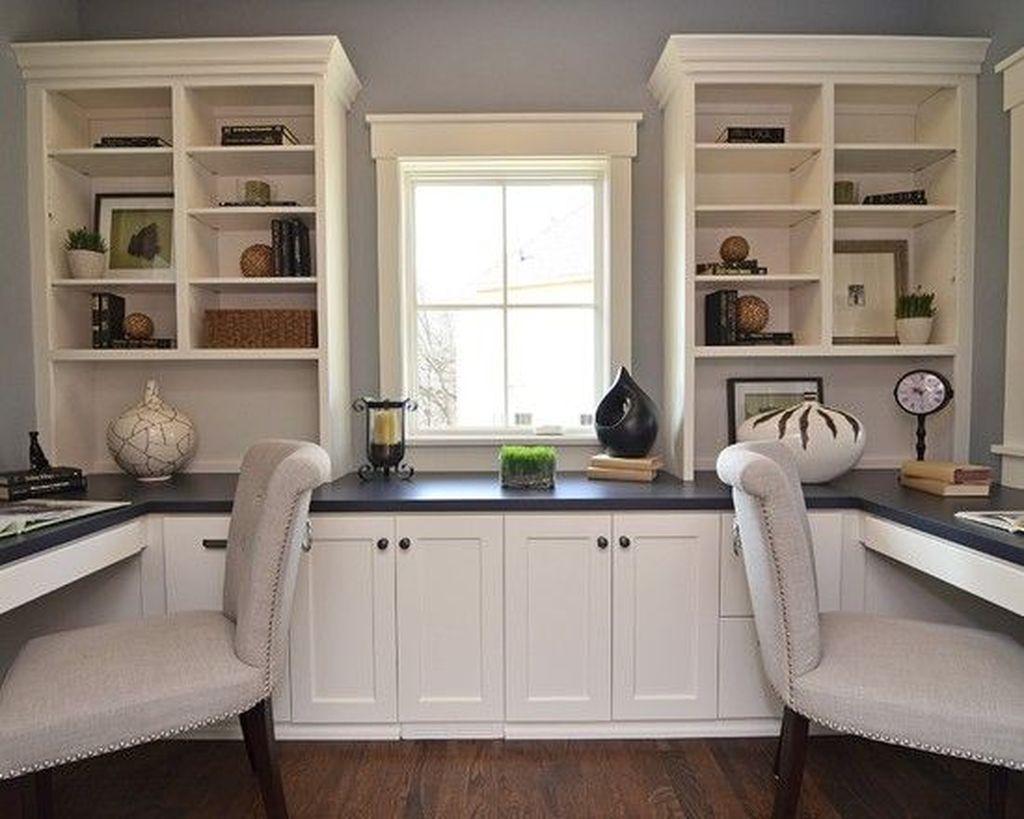Stunning Modern Home Office Design Ideas 39