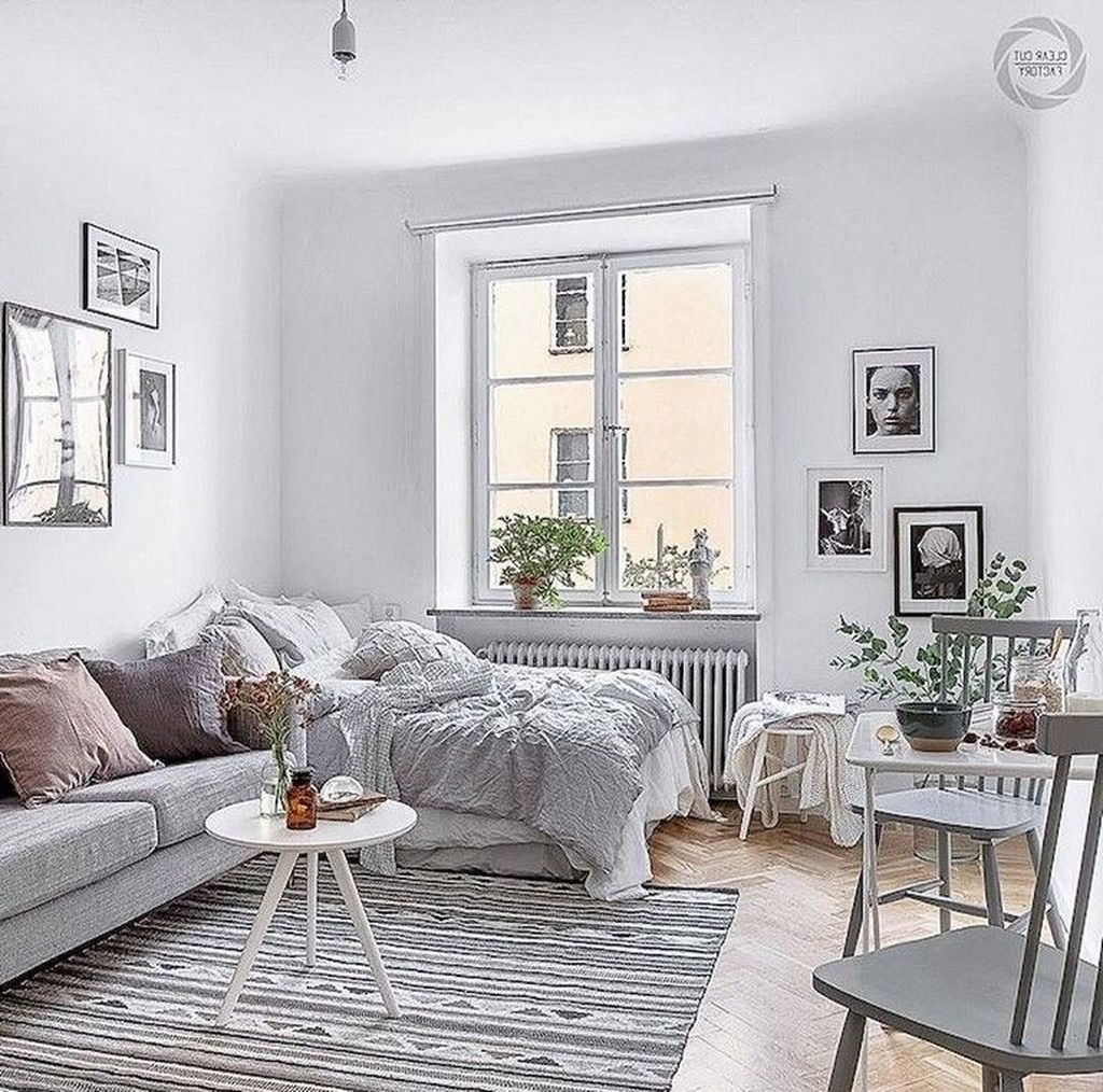 The Best Studio Apartment Layout Design Ideas 08