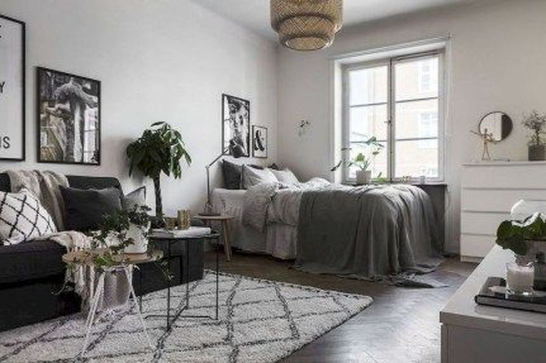 The Best Studio Apartment Layout Design Ideas 12