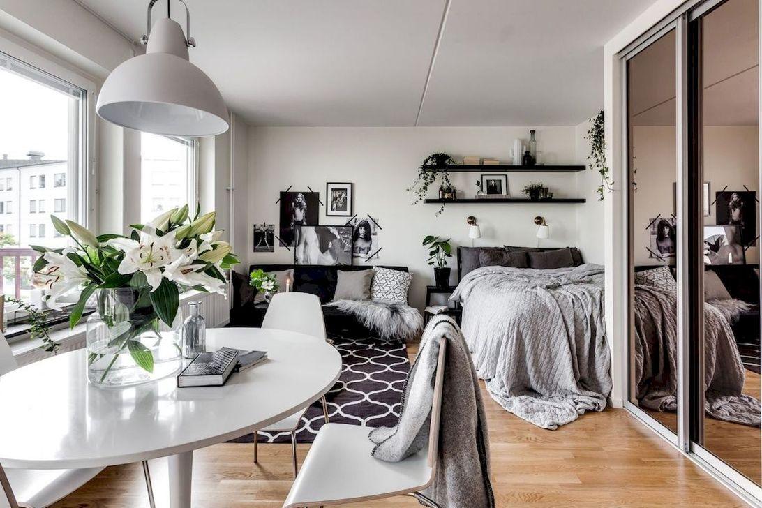 The Best Studio Apartment Layout Design Ideas 17