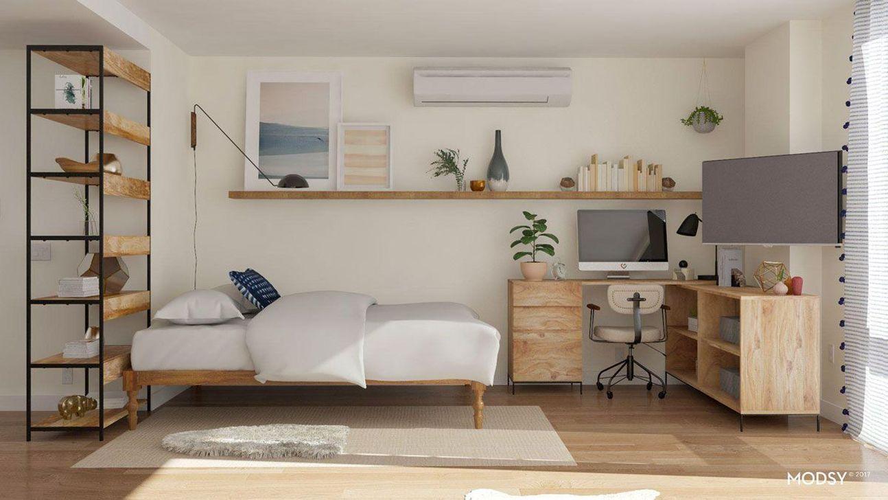The Best Studio Apartment Layout Design Ideas 21