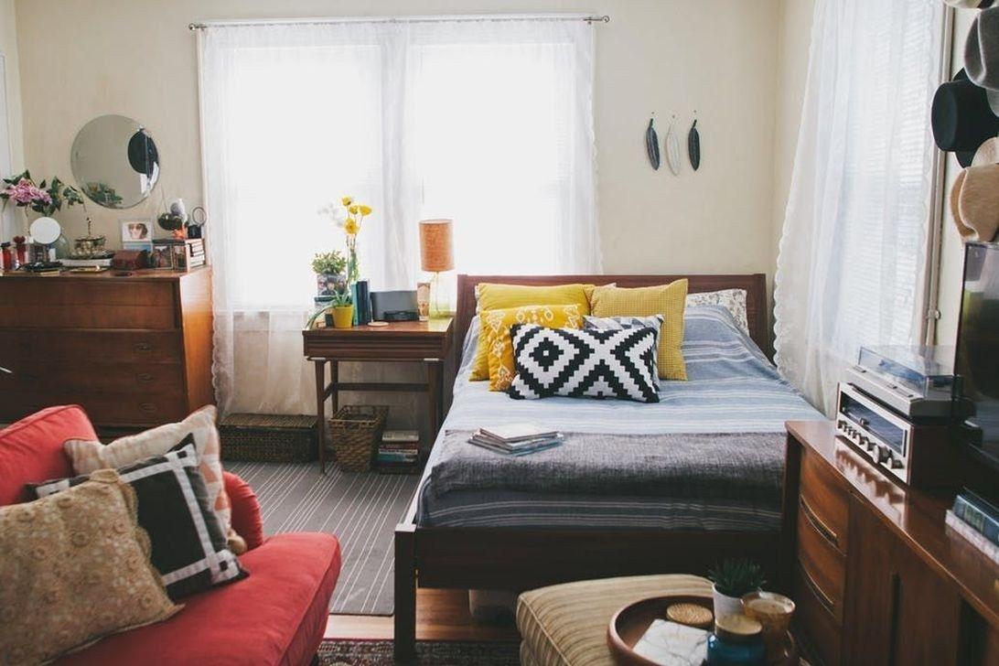 The Best Studio Apartment Layout Design Ideas 28