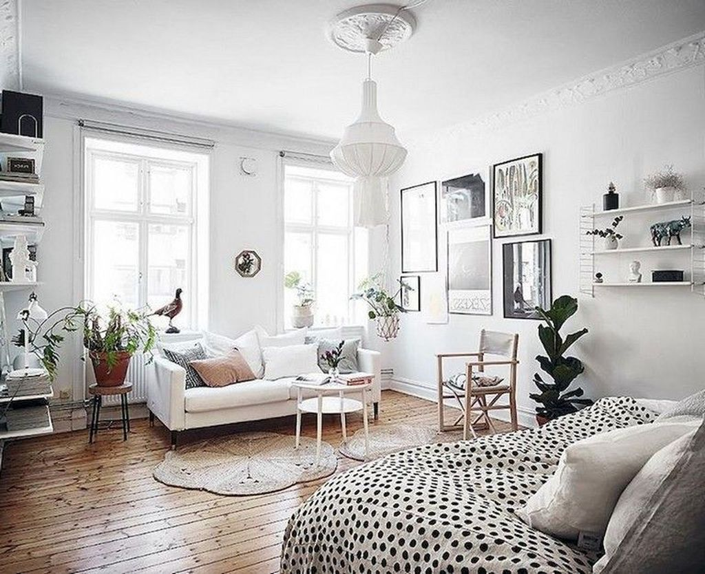 The Best Studio Apartment Layout Design Ideas 30