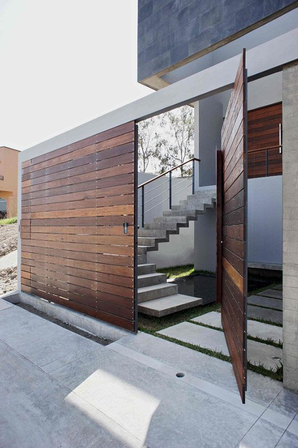 Amazing Modern Door Design Ideas 12