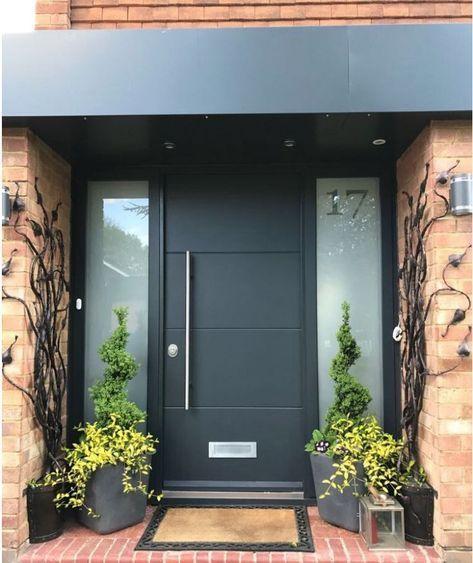 Amazing Modern Door Design Ideas 23