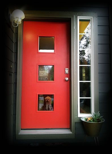 Amazing Modern Door Design Ideas 36